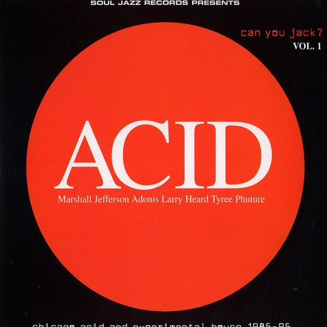 V.A. - Acid - can you jack ? vol.1