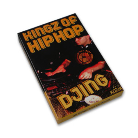 Kingz Of Hiphop Playing Cards - Djing edition