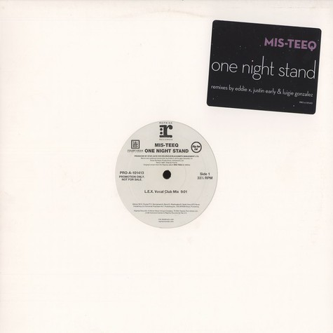 Mis-Teeq - One night stand remixes