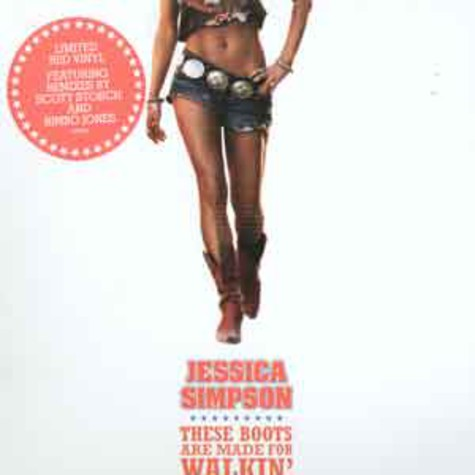 Jessica Simpson - These boots are made for walkin Scott Storch remix