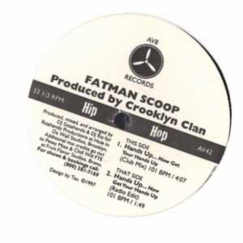 Fatman Scoop - Hands up...now get your hands up