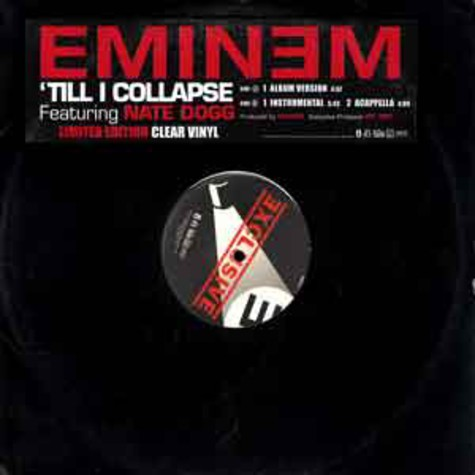 Eminem - 'Till I Collapse feat. Nate Dogg