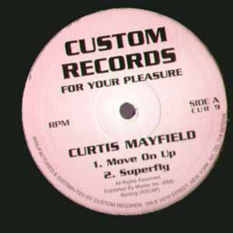 Curtis Mayfield - For your pleasure EP