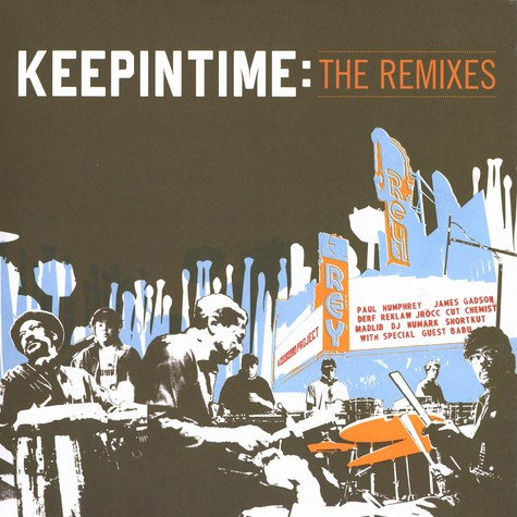 Keepintime - Keepintime - the remixes
