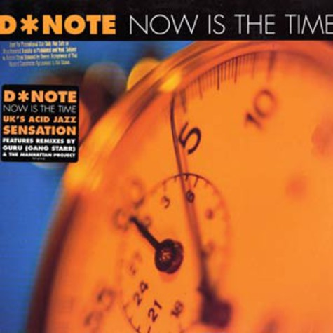 D-Note - Now is the time