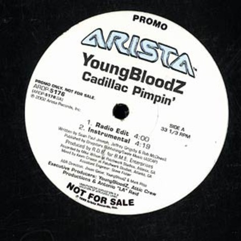 Youngbloodz - Cadillac pimpin