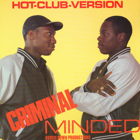 Boogie Down Productions - Criminal Minded Instrumentals