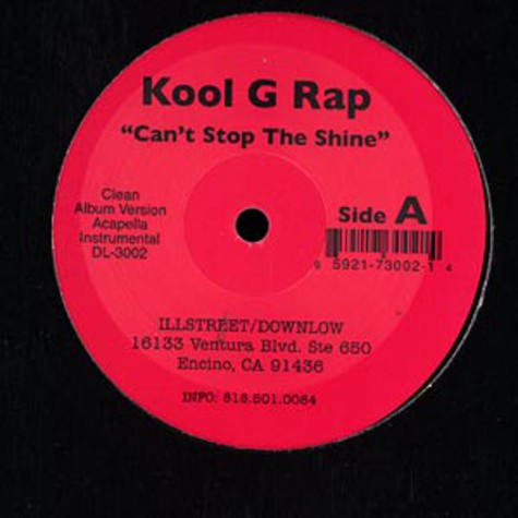 Kool G Rap - Can't stop the shine