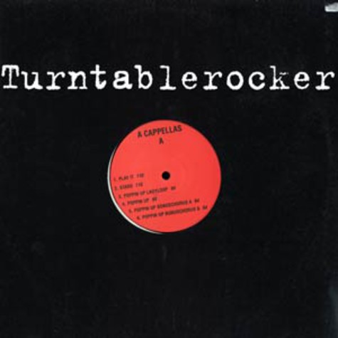 Turntablerocker - A cappellas
