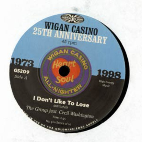 Group, The - I dont like to lose feat. Cecil Washington