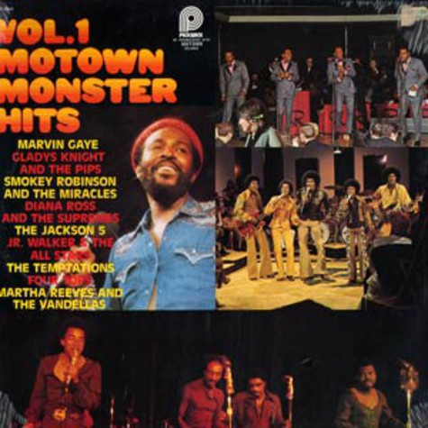 V.A. - Motown monster hits vol.1