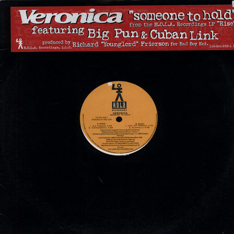 Veronica - Someone to hold feat. Big Pun & Cuban Link
