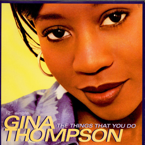 Gina Thompson - The Things That You Do