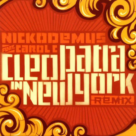 Nickodemus - Cleopatra in New York feat. Carole