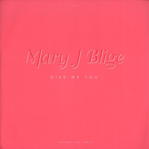 Mary J.Blige - Give me you 2/2