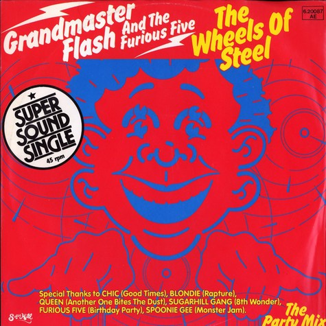 Grandmaster Flash - The wheels of steel
