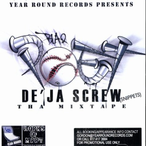 Blaq Poet - De'ja screw