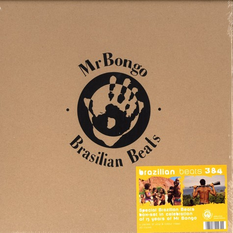 Mr.Bongo Records - Brasilian beats volume 3&4