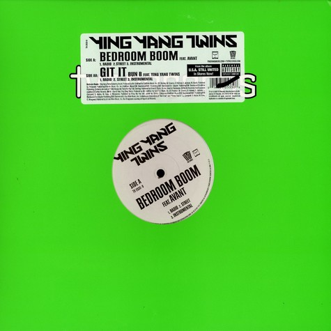 Ying Yang Twins - Bedroom boom feat. Avant