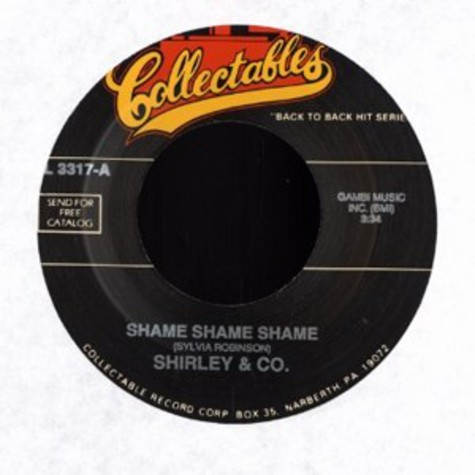 Shirley & Co / The Whatnauts - Shame shame shame / try me