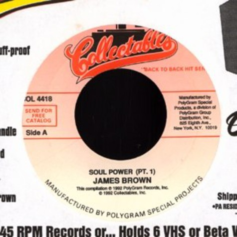 James Brown - Soul power pt. 1