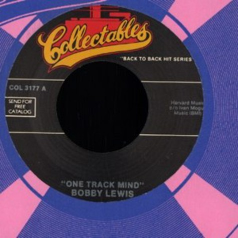 Bobby Lewis / Lee Dorsey - One track mind / do-re-mi