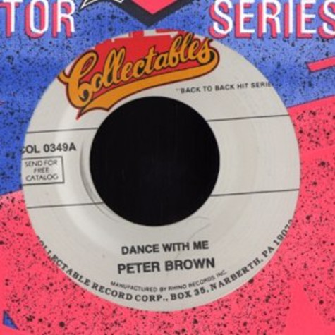 Peter Brown - Dance with me