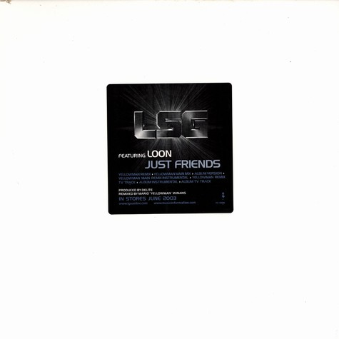 LSG feat. Loon - Just friends Remixes