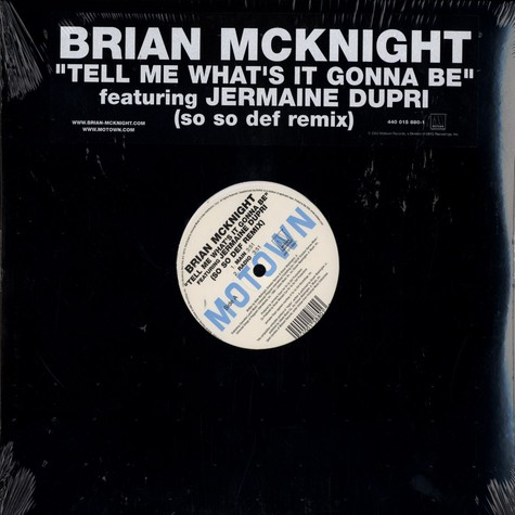 Brian McKnight - Tell me what's it gonna be So So Def remix feat. Jermaine Dupri