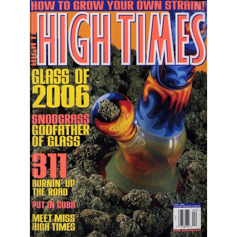 High Times Magazine - 2006 - 4 - April