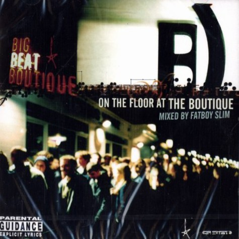 Fatboy Slim - On the floor at the boutique