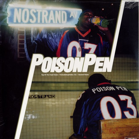 Poison Pen - Top Of The Food Chain Feat. C-Rayz Walz