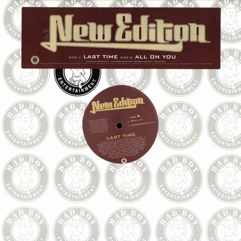 New Edition - Last time