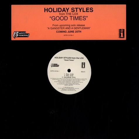 Holiday Styles of LOX - Good times