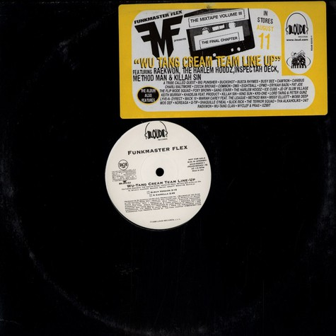 Funkmaster Flex - Wu tang cream team line up