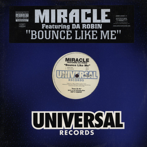Miracle - Bounce like me feat. Da Robin