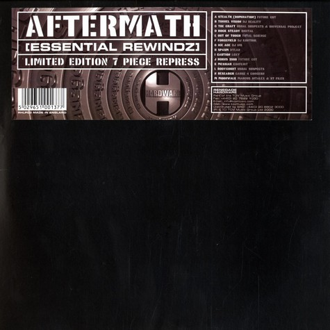 Aftermath presents - Essential rewindz