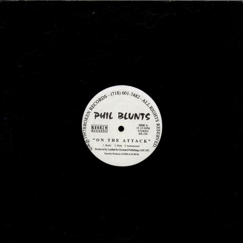 Phil Blunts - On The Attack / X Files