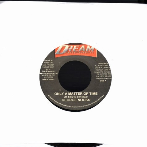 George Nooks / Peter Hunnigale - Only a matter of time / put love first