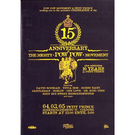 Pow Pow Productions - 15th anniversary DVD