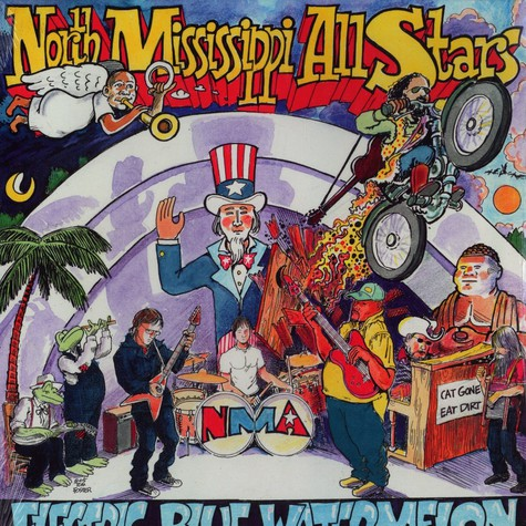 North Mississippi All Stars - Electric blue watermelon