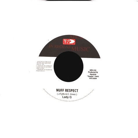 Lady G - Nuff respect