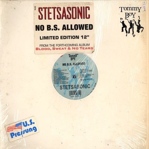 Stetsasonic - No b.s. allowed
