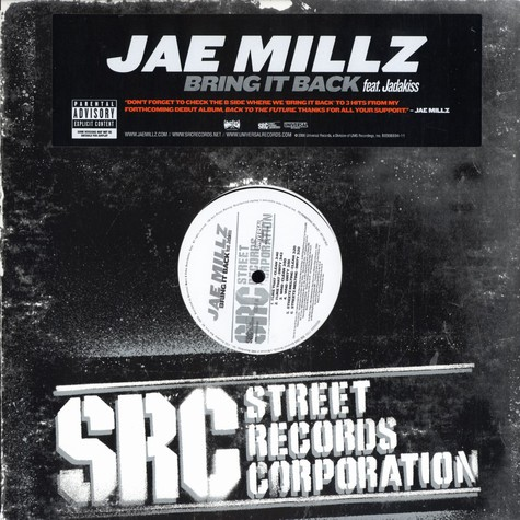 Jae Millz - Bring it back feat. Jadakiss