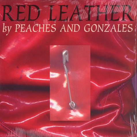 Peaches and Gonzales - Red leather