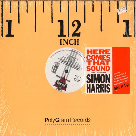 Simon Harris - Here comes that sound