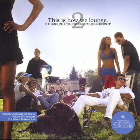 This Is How We Lounge - The Sunshine Enterprises remix collection EP