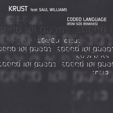 Krust - Coded Language feat. Saul Williams
