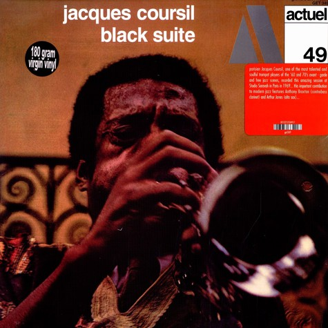 Jacques Coursil - Black suite