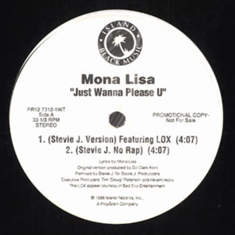 Mona Lisa - Just wanna please u
